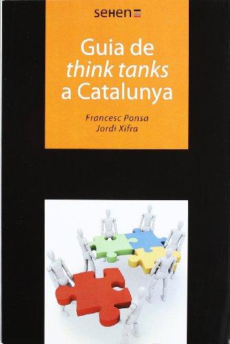 9788493999506: Guia de think tanks a Catalunya (SEHEN)