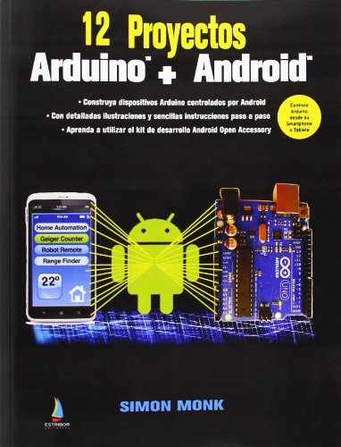 9788494003042: 12 Proyectos Arduino + Android