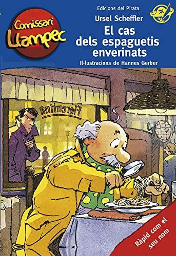 9788494009334: El cas dels espaguetis enverinats: Llibre de detectius per a nens de 10 anys amb enigmes per resoldre anant davant del mirall! Llibre infantil en català: 18 (Comissari Llampec)