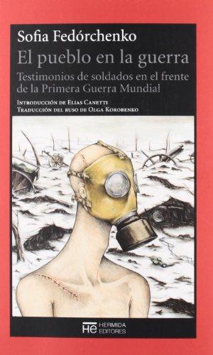 9788494015915: Pueblo En La Guerra, El (El Jardin De Epicuro)