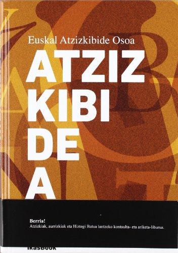 9788494018428: Euskal Atzizkibide Osoa