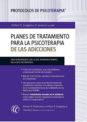 9788494025099: Planes de tratamiento para la psicoterapia de las adicciones : Protocolos de psicoterapia