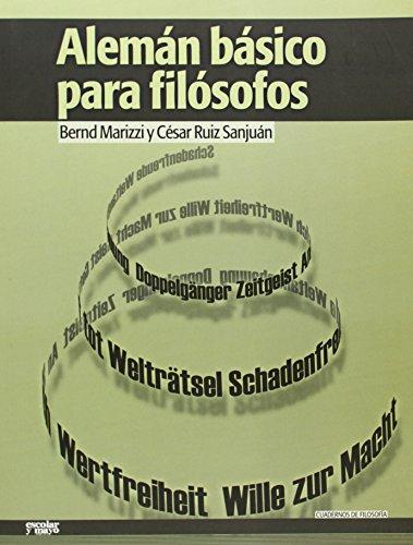 9788494035739: Alemán Básico Para Filósofos (Cuadernos de filosofía)