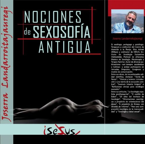 9788494086601: Nociones De Sexosofia Antigua