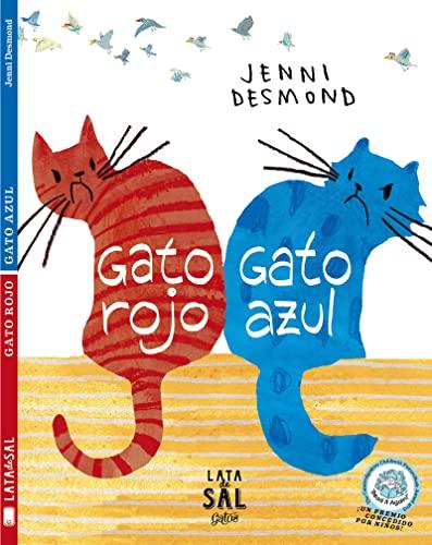 9788494113659: Gato rojo, gato azul / Red Cat, Blue Cat