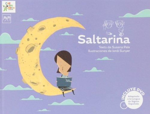 9788494122507: Saltarina (con DVD) (Carambuco Cuentos)