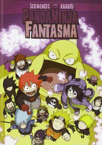 9788494128912: 5 elementos x Raruto, Panda Ninja Fantasma