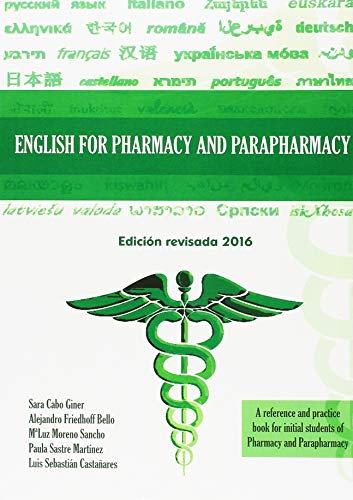 9788494147012: English For Pharmacy And Parapharmacy