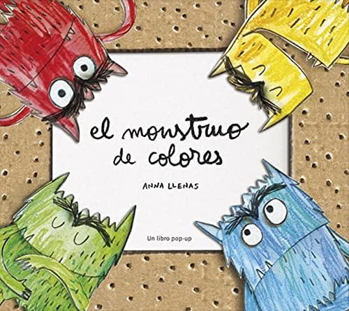 9788494157820: El monstruo de colores (POP UP) (Spanish Edition)
