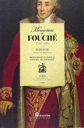 9788494201585: Memorias de Fouché (1759 - 1820)
