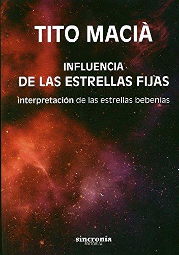 9788494216398: Influencia De Las Estrellas Fijas