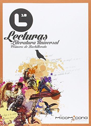9788494254192: Lecturas literatura universal 1º bachillerato
