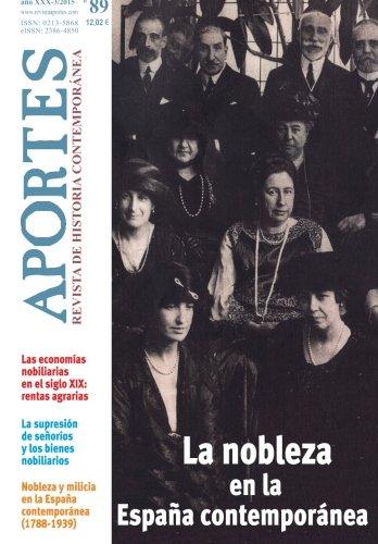 9788494339134: Aportes. Revista de Historia Contemporánea 89, XXX (3/2015)
