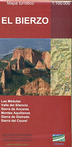 9788494347405: El Bierzo. Mapa tur�stico