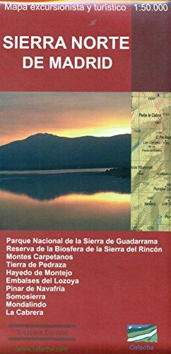 9788494347443: SIERRA NORTE DE MADRID. MAPA EXCURSIONISTA Y TURÍSTICO