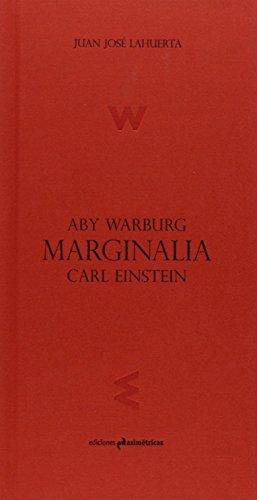 9788494348792: Marginalia. Aby Warburg, Carl Einstein