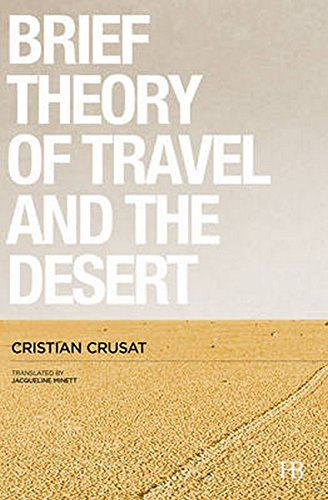 9788494426230: A Brief Theory of Travel and the Desert