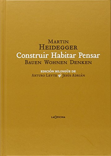 9788494440106: Construir Habitar Pensar (Bauen Wohnen Denken)
