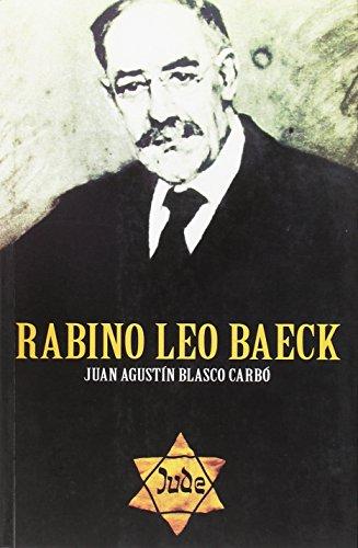 Rabino Leo Baeck: BLASCO CARBO, JUAN