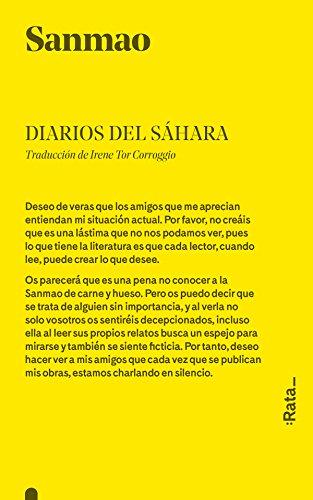 9788494489174: Diarios Del Sáhara