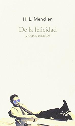 9788494569265: De la felicidad y otros escritos (Largo Recorrido)