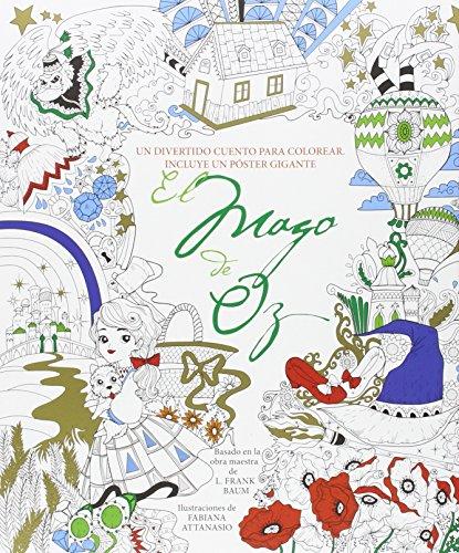 9788494578403: El mago de Oz: Un divertido cuento para colorear ...