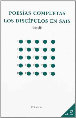 9788495007230: Poesias completas/discipulos de sais, los (Poesia (dvd))