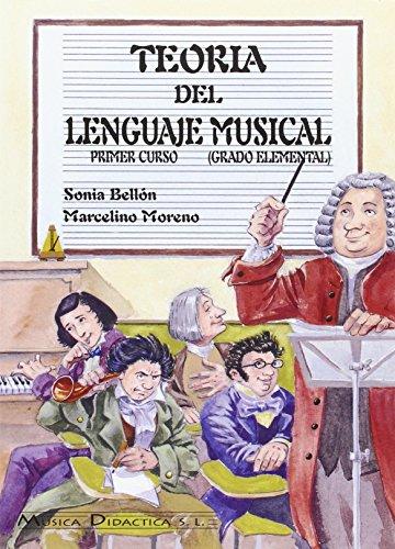 9788495069054: Teoría del lenguaje musical, 1 grado elemental