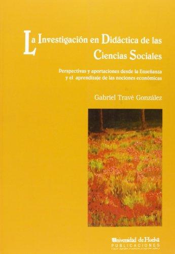 La investigación en didáctica de las ciencias: Travé González, Gabriel