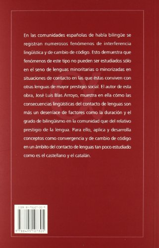 Lenguas en contacto : consecuencias lingüísticas del: Blas Arroyo, José