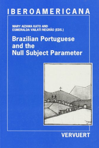 Brazilian Portuguese and the Null Subject Parameter: AIZAWA KATO, Mary