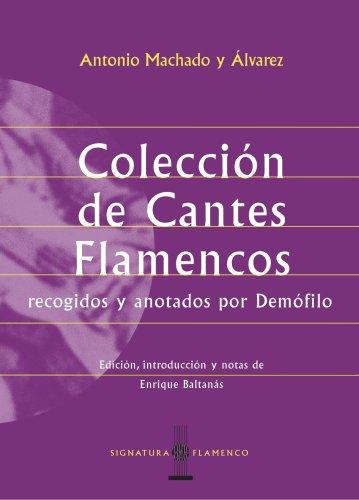 9788495122209: Colección de cantes flamencos (Spanish Edition)