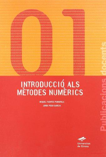 9788495138415: Introducció als mètodes numèrics (Publicacions Docents)