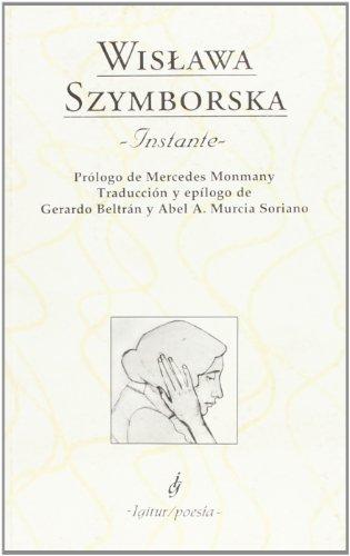 9788495142351: Instante - 2ª Edición (IGITUR / POESIA)