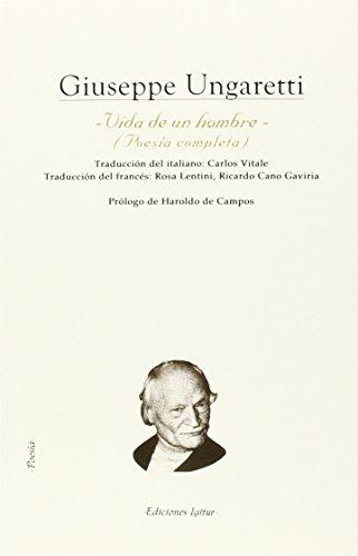 9788495142771: Vida De Un Hombre (Poesia (igitur))
