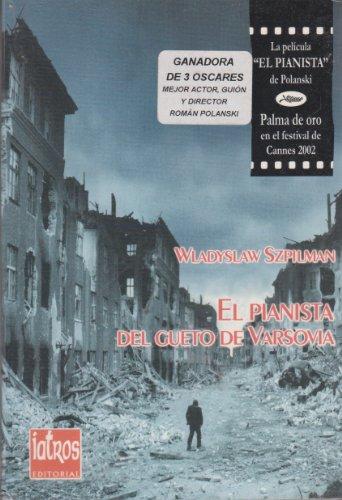9788495157089: El pianista del gueto de Varsovia (Memoria) (Spanish Edition)