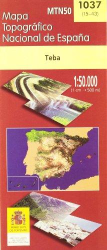 9788495172877: MTN50 - Mapa Topográfico Nacional de España