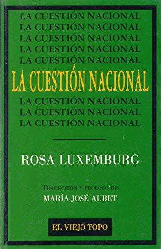 9788495224002: CUESTION NACIONAL