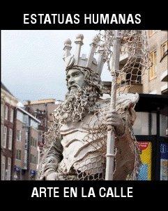 9788495242662: Estatuas humanas : el arte de la calle