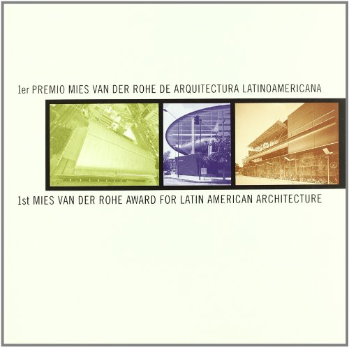 1st Mies Van Der Rohe Award for