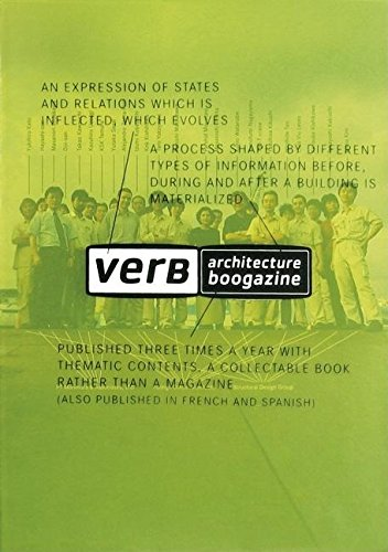 Verb Processing. Architecture Boogazine ; 1: Ferre, Albert ;