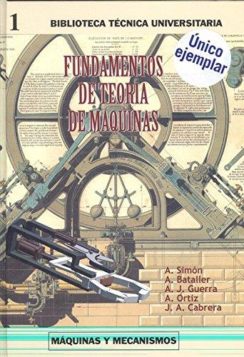 9788495279200: Fundamentos de teoria de maquinas