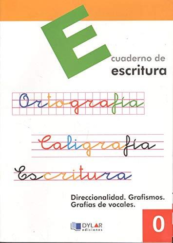 9788495280114: Escritura, Educación Primaria. Cuaderno 0