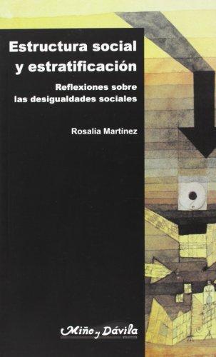 9788495294074: Estructura Social Y Estratificacion, Reflexiones Sobre Las Desigualdades Sociales