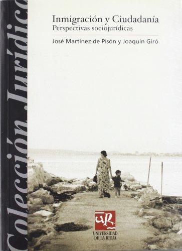 Inmigracion y ciudadania/ Immigration and Citizenship: Perspectivas: Jose Martinez de