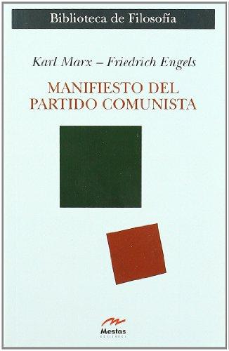 9788495311689: Manifiesto del partido comunista / Manifesto of the Communist Party (Clasicos Filosofia) (Spanish Edition)