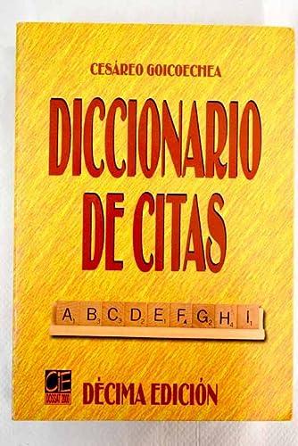 9788495312433: Diccionario de citas