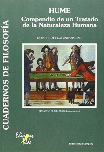 9788495314666: Hume: Compendio de un Tratado de la Naturaleza Humana