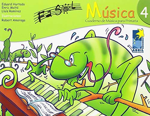 9788495316691: Fa Sol, música, 4 Educación Primaria. Cuaderno