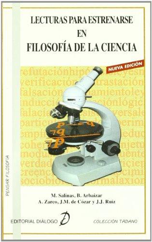 9788495333575: Lecturas para estrenarse en Filosofía de la Ciencia